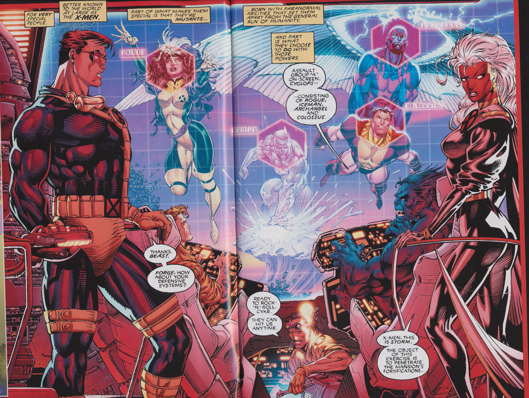 X-Men Team Introduction