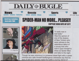 Ultimate Spider-Man #4 - You were right, kid.  This was in bad taste!