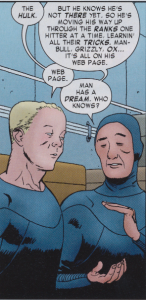 Daredevil #6 - Beavis Butthead Nose
