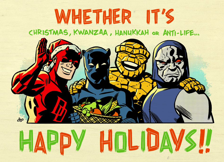 Happy Holidays from Marvel!