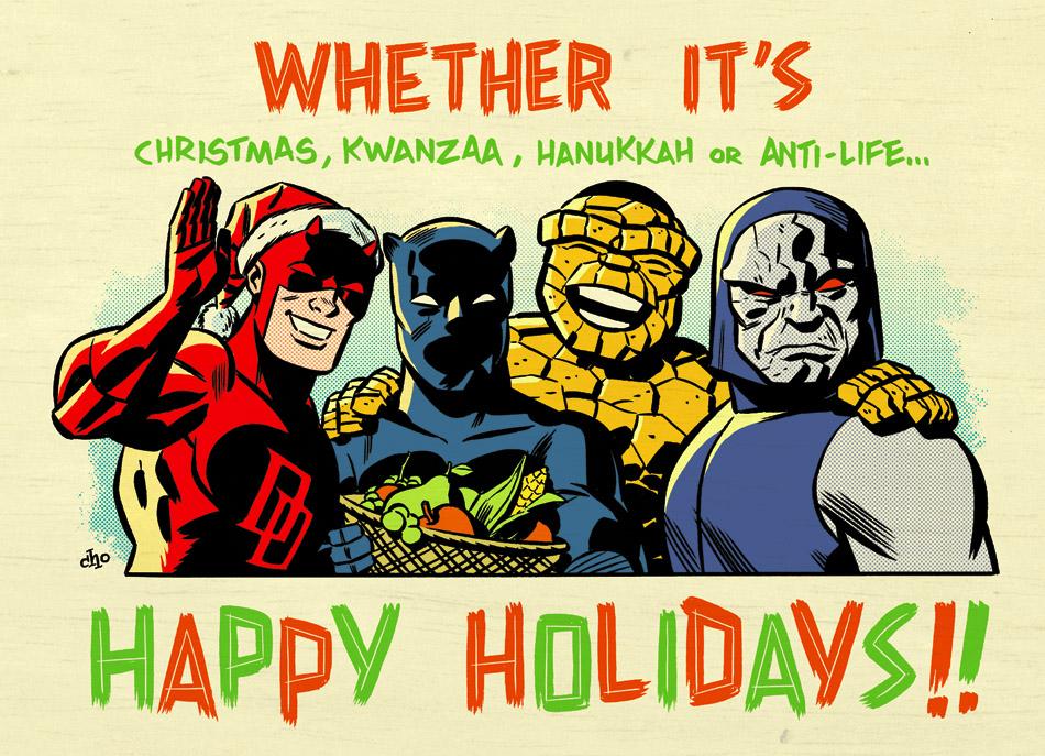 Happy Holidays from Marvel!
