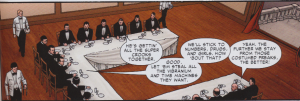 "Spider-Man Brand New Day Vol 1 - Mafia about Super Villains: ""Let 'em steall all the Vibranium"""