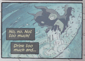 Batman #5 - Drinking when he probably shouldn't
