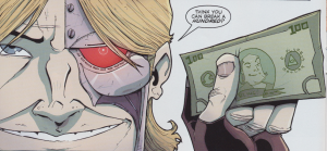 Chew #23 - At least two easter eggs in this image