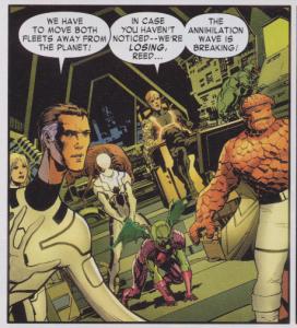 Fantastic Four #602 - Spider-Man on Anihilus Leash Duty