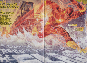 Flash #5 - Title Splash