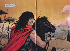 Conan the Barbarian #1 - smirk