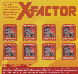 X-Factor #231 - Intro Page