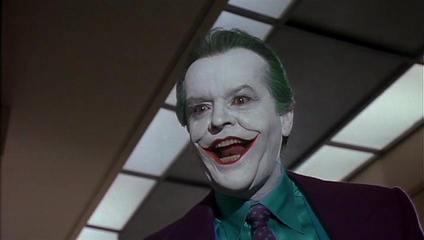 Joker in Tim Burton's Batman
