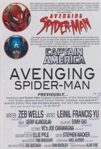 Avenging Spider-Man #5 - Hawkeye