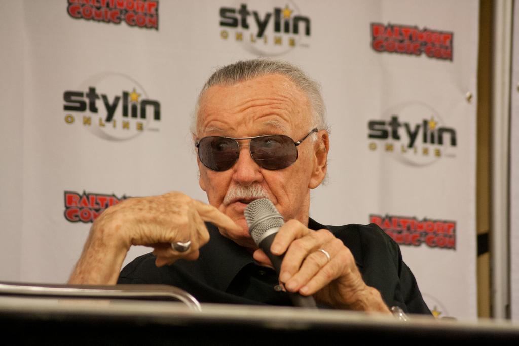 Stan Lee at Baltimore Comic-Con 2012