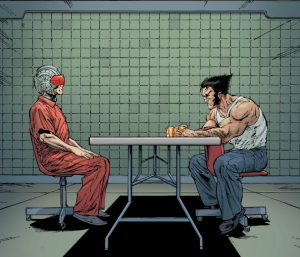 AvX:Consequences #2 - Scott and Wolverine in Jail