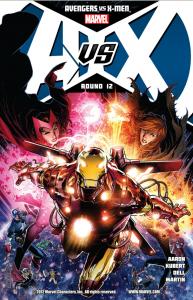 Avengers vs X-Men - Cover