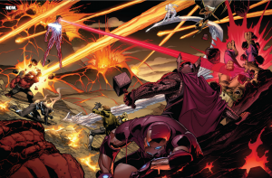 Avengers vs X-Men - Scott Summers as Dark Phoenix