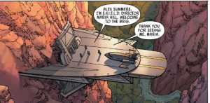 Uncanny Avengers #1 - SHIELD Brig