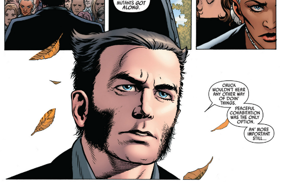 Uncanny Avengers #1 - Wolverine delivers eulogy