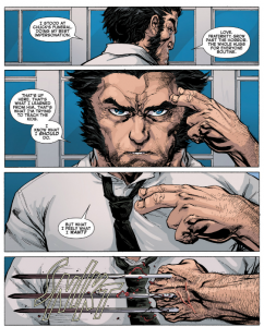 AvX: Consequences #1 - awesome art on Wolverine