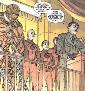 Fantastic Four #605.1 - Nazi Fantastic Four