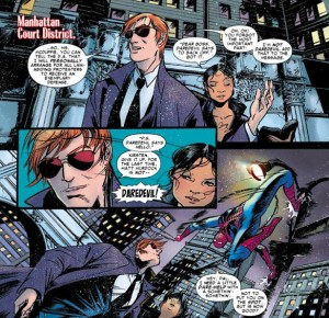 Matt Murdock IS Daredevil (THANKS SPIDEY!)