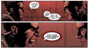 Uncanny X-Force #33 - Daken and Wolverine