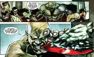 Captain Marvel #1 - Insults
