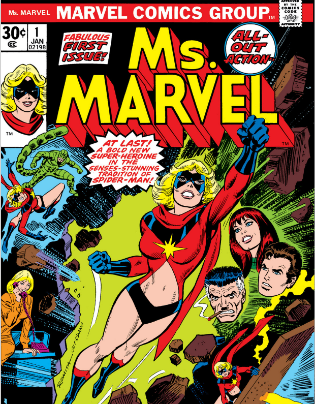 captain marvel 1970