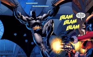 panel from Batman #613