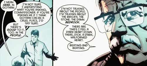 panel from Detective Comics #880