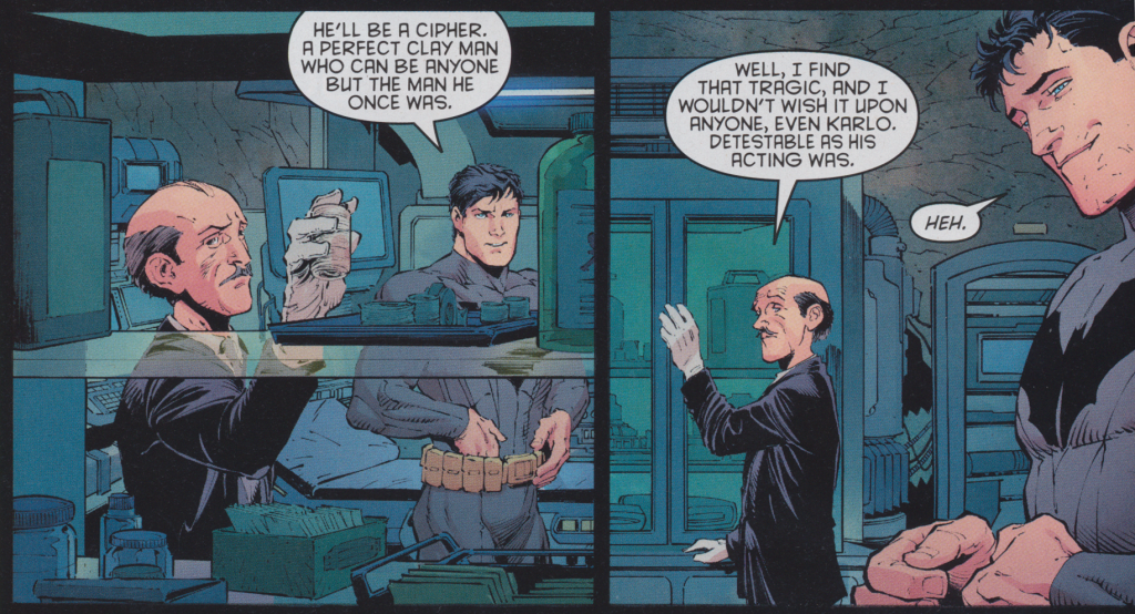 Batman #20 - Old School Moral Ending