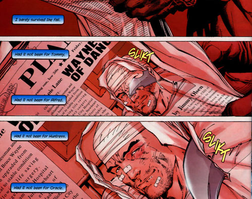 panel from Batman #609