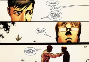 panel from Detective Comics #878
