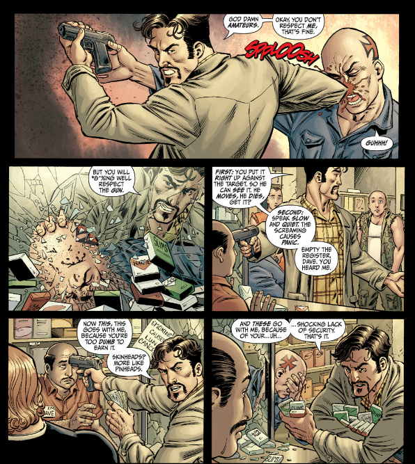 Secret Six #1 - Robbery Gone Wrong 2