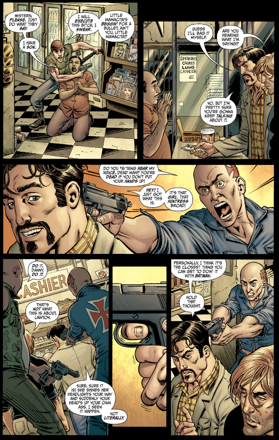 Secret Six #1 - Robbery Gone Wrong