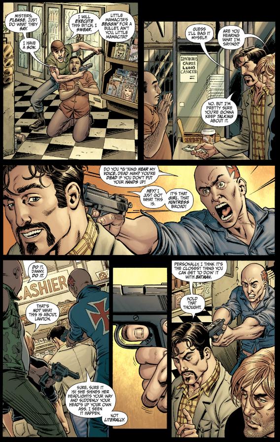 Secret Six #1 - Robbery Gone Wrong
