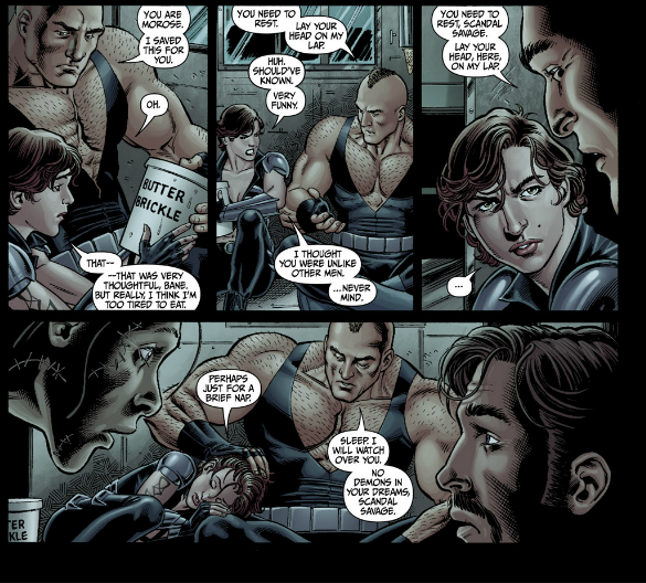 #Secret Six 4 - Bane gets paternal on Scandal Savage