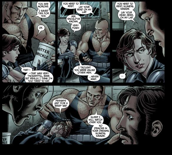 #Secret Six 4 - Bane gets paternal on Scandal Savage