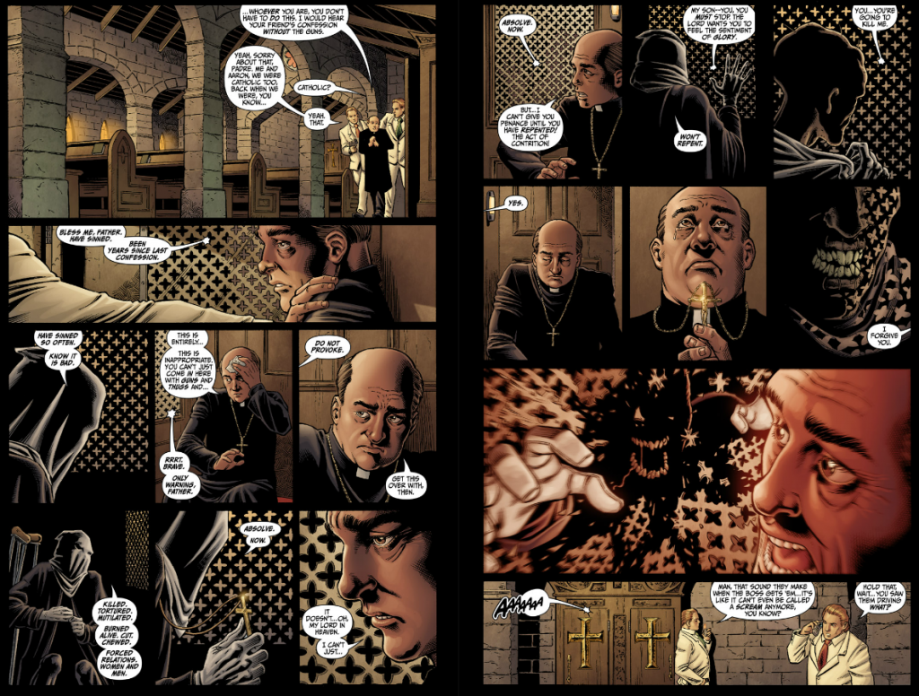Secret Six #4 - Crazy Confession