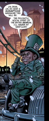 Secret Six #7 - The Mad Hatter Behind it All