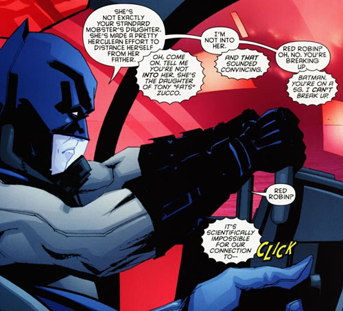 panel from Detective Comics #877