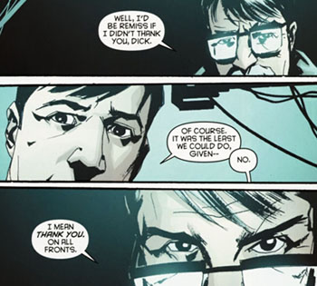 panel from Detective Comics #881