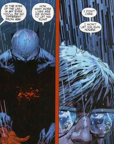 panel from Batman #614