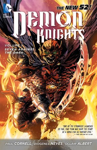 Demon Knights: Seven Against the Dark cover