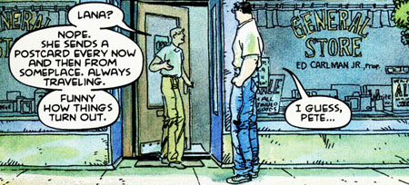 panel from Superman For All Seasons #2