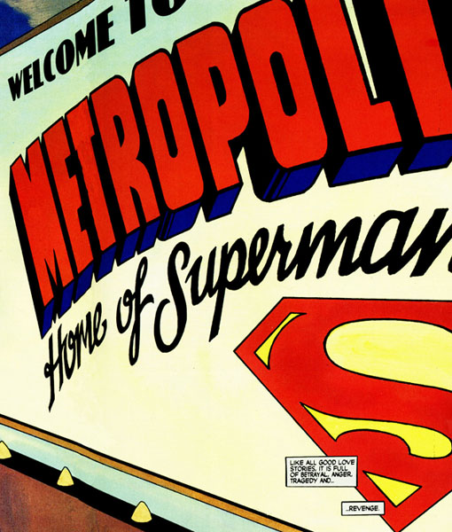 panel from Superman For All Seasons #3