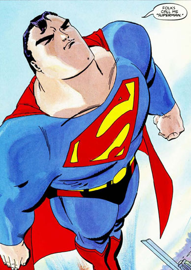 panel from Superman For All Seasons #4