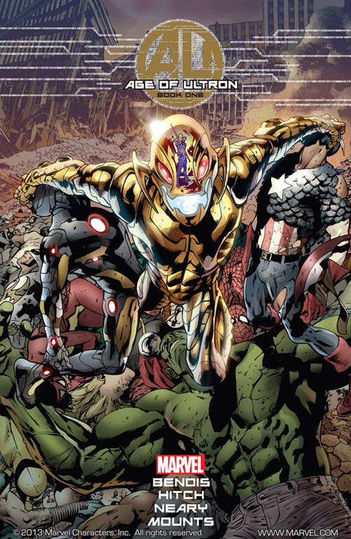 cover of Age of Ultron #1