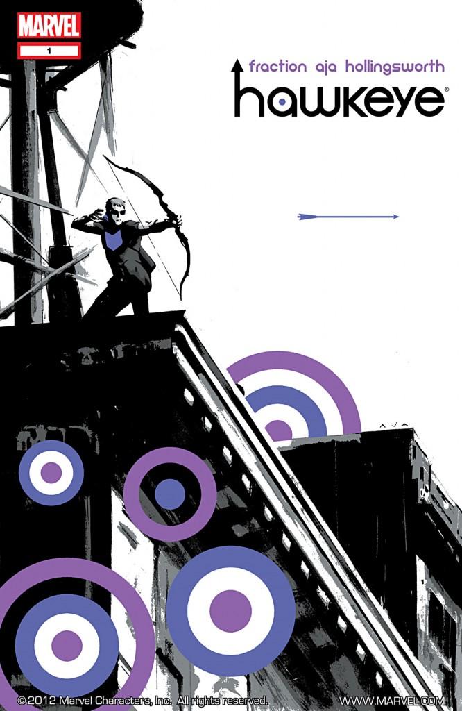 Hawkeye #1 cover