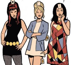 panel from Hawkeye #9
