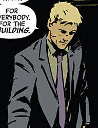 panel from Hawkeye #1