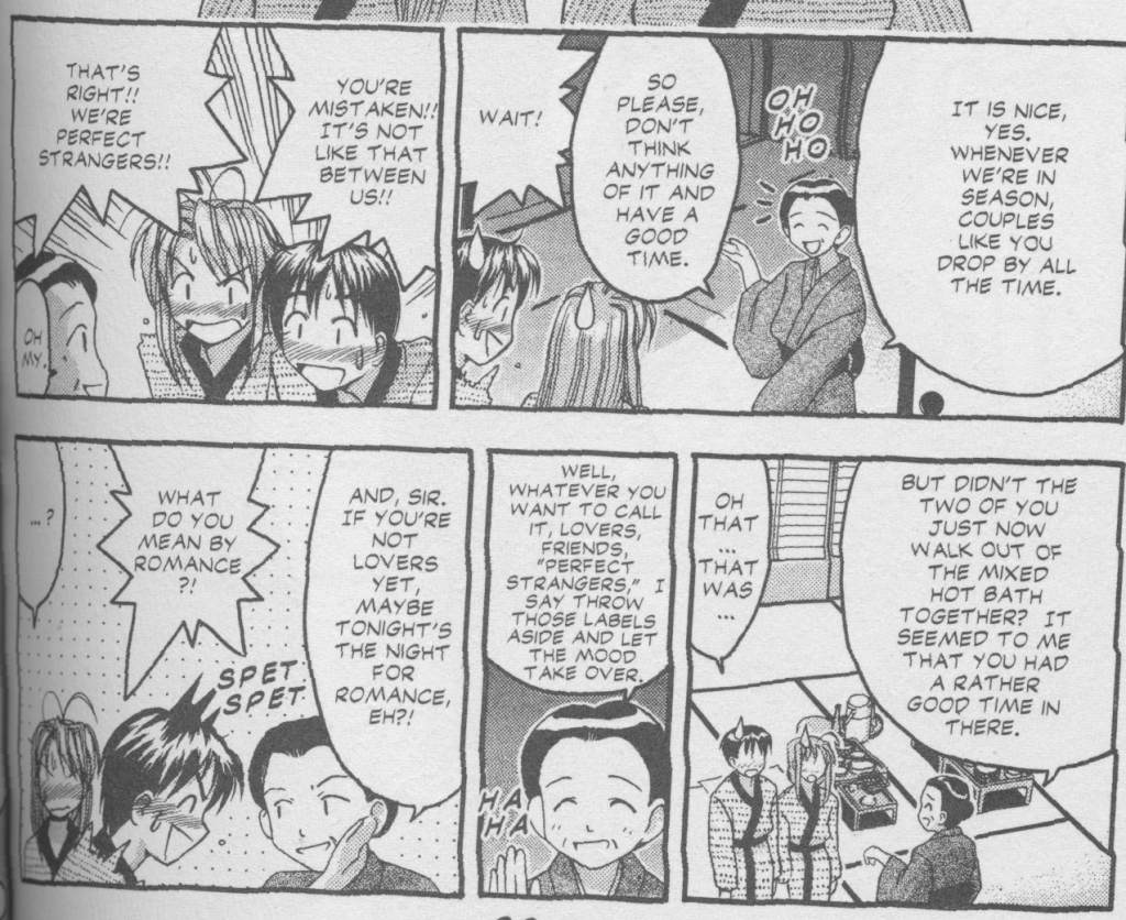 Love Hina Book 3 - Sharing a Hotel Room